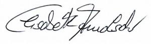 Unterschrift Elisabeth